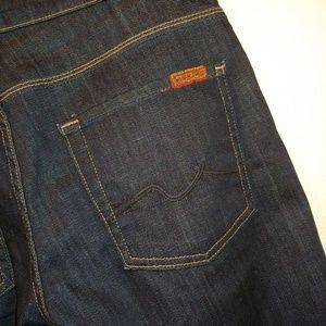 7FAM 7 for all Mankind Ginger Wide Leg Trouser 27